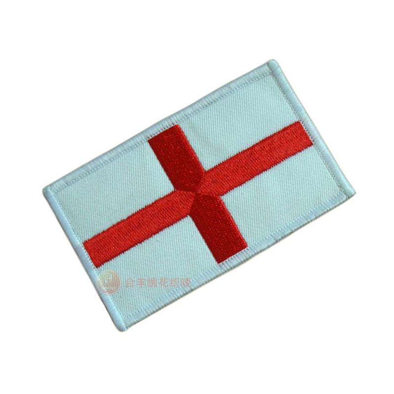 绣花国旗徽章、绣花章